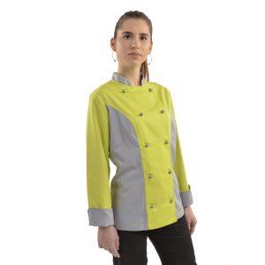 Ženska kuharske jakne s dugim rukavima