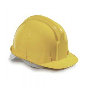 Zaštitna kaciga za gradilište žuta