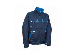 Radna jakna Cofra Getafe plava sa svijetloplavim elementima