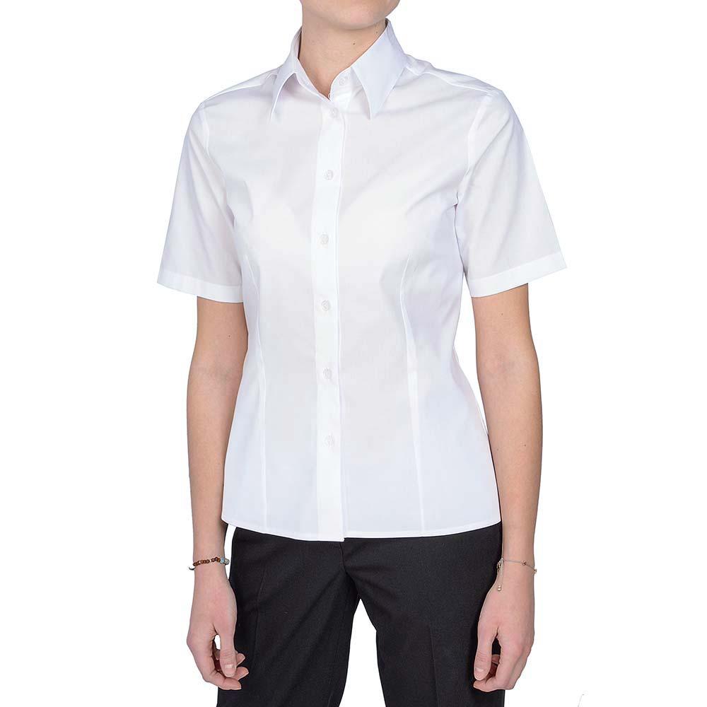 košulja ženska bijela kratki rukav1