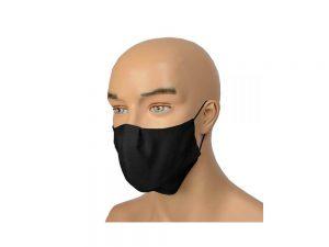 Zaštitna Maska za Lice Crna